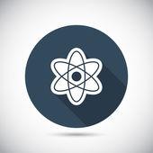 Abstrakte Physik-Wissenschaft-Modell-Symbol — Stockvektor