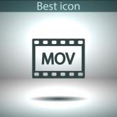 Video icon design — Stock vektor