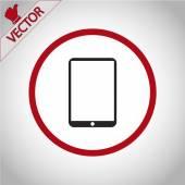 Rörlig smartphone-ikonen — Stockvektor