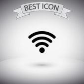 Wireless Network Symbol of wifi icon — Stock Vector