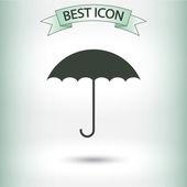 Umbrella icon design — Stockvektor