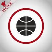 Basketball ball icon — Stock Vector