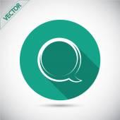 Icon of dialog — Stock Vector