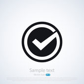 Check mark — Stock Vector