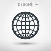 Planet icon design — Stock Vector