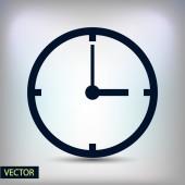 Дизайн символа часов — Cтоковый вектор