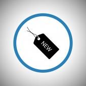 Новый значок метки — Cтоковый вектор
