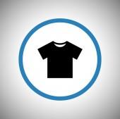 Tshirt Flat icon — Stock Vector