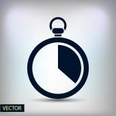 Stopwatch icon design — Vettoriale Stock