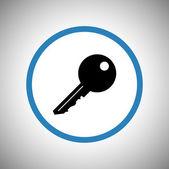 Key icon design — Stock Vector