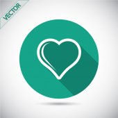 Heart Icon design — 图库矢量图片