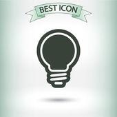 灯泡图标 — 图库矢量图片