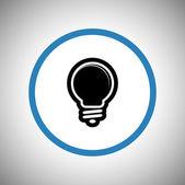 Icône d'ampoule — Vecteur