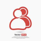 Business mensen pictogram — Stockvector