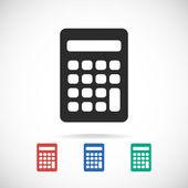 Calculator icon design — Stock Vector