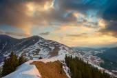 Spring sunrise — Stock Photo