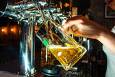 Big cup of beer — Stock Photo