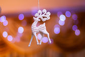 Decorations for new year tree — Stock Photo