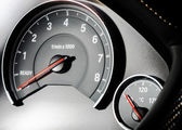 Speed control dashboard — Stock Photo