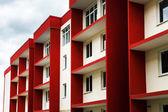 New typical economy apartments building — Stock Photo
