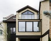 New fiberglass windows for apartments — ストック写真