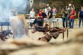 Editorial,14st June 2015: Chatenois, France: Fete des Remparts d — Stock Photo