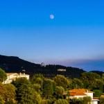 Modern villas in Nice view, sunset, summer — Stock Photo #81597400