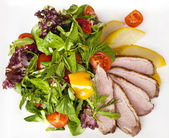 Duck salad — Stock Photo
