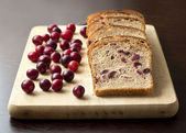 Bread with cranberries — Stock Photo