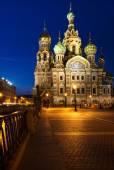 Church of the Savior on blood. — Stock Photo