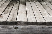 Old wooden planks texture. Blur perspective. Great background or — Stock Photo