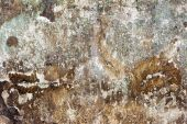 Abstract concrete, weathered with cracks and scratches. Landscap — Stock Photo
