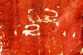 Creative background with beautiful shades of red, cracks and scr — Stock Photo