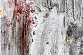 Abstract background gloomy concrete wall, casually painted dark  — Stock Photo
