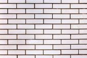 Abstract background old white brick wall with cracks and scratch — Stock Photo