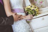 Wedding flowers bouquet — 图库照片