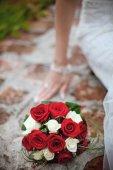 Wedding flowers bouquet — Stock Photo