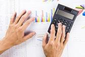 Bookkeeping and saving habits — Zdjęcie stockowe
