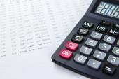 Finance business calculation — Stock Photo