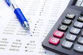 Calcul de finance d'entreprise — Photo