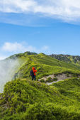 Alpine scenery from Taiwan — 图库照片