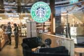 Starbucks — Stock Photo