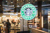 Starbucks — Foto de Stock
