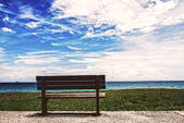 Sky and chairs — Stockfoto