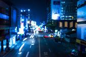 Night of the vehicle — Stock Photo
