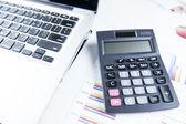 Finance business calculation — Zdjęcie stockowe