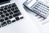 Finance business calculation — Foto Stock