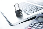 Internet Security Imagery — Stock Photo