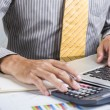 Finance business calculation — Stock Photo #53986479