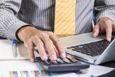Finance business calculation — Foto Stock